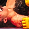 Saeid Mirzaei vs Victor Wang. Foto: Peter Gordon
